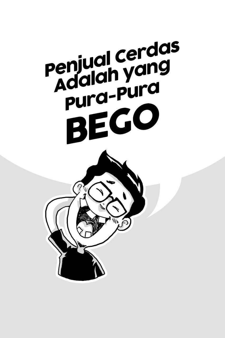 Isi Komik Jago Jualan