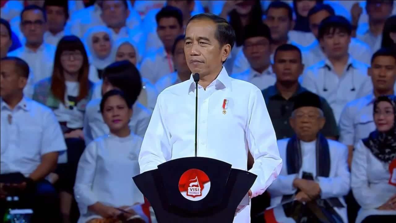 Pidato Joko Widodo