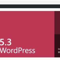 update ke wordpress 5.3