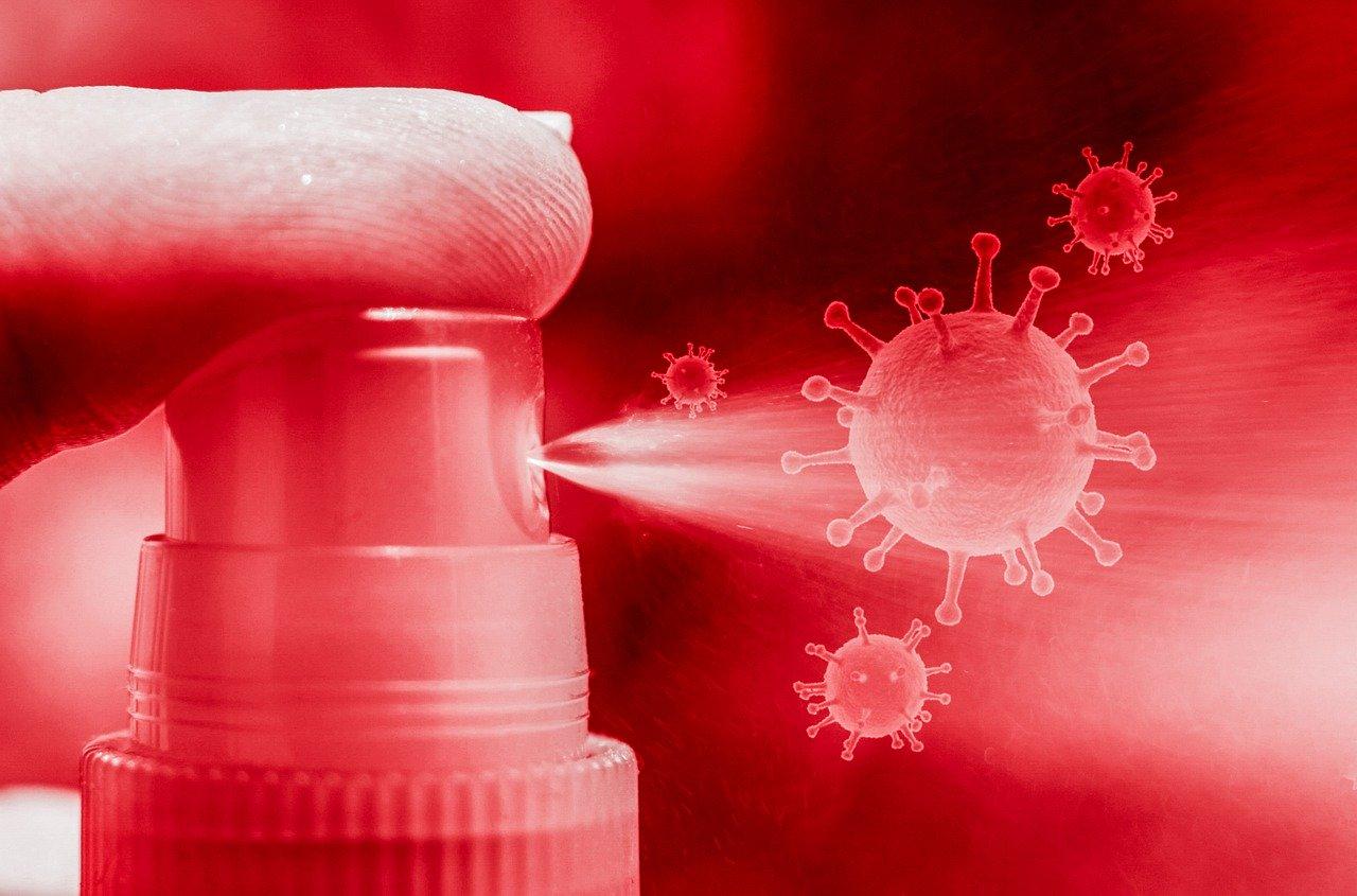 membuat cairan desinfektan sendiri